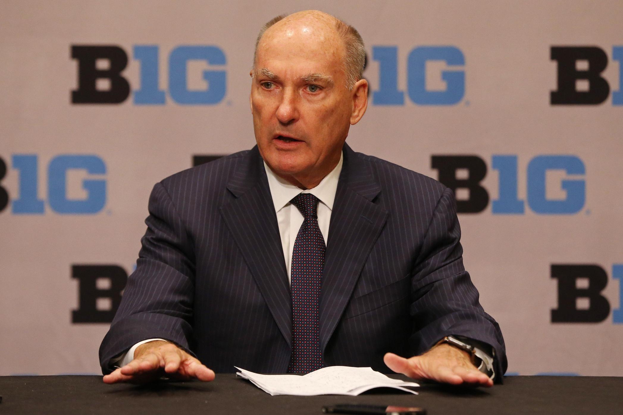 B1G commissioner Jim Delany wi...