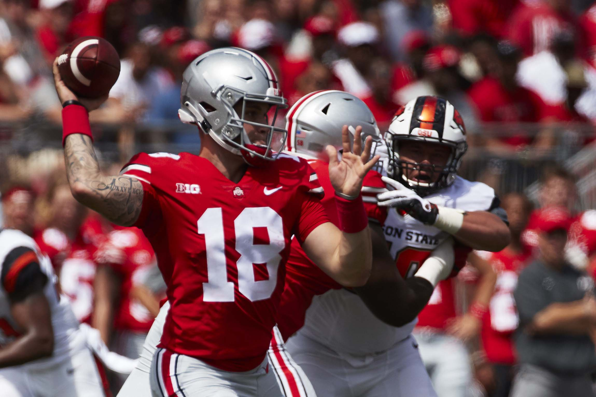 Tate Martell has major compliments for Ryan Day, Dwayne ...