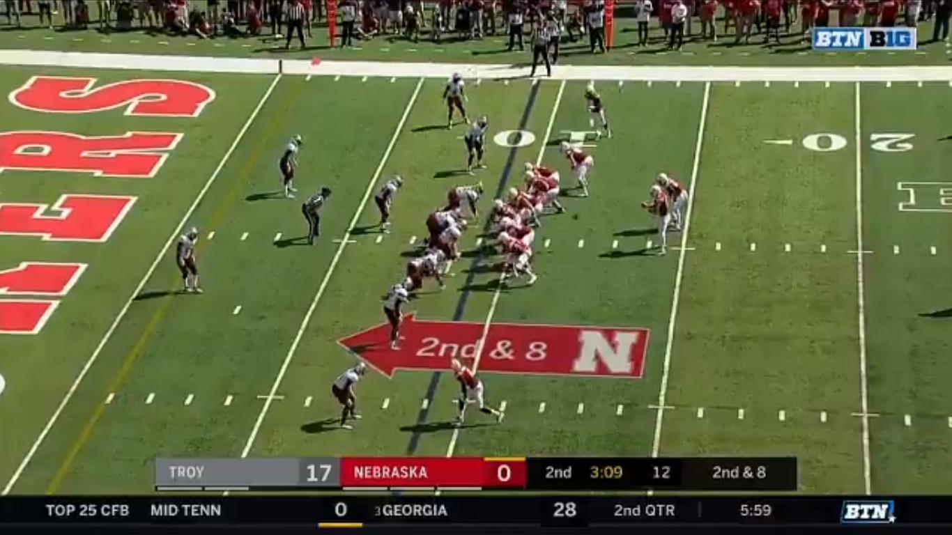 WATCH: Andrew Bunch gets Nebraska on the board with strike ...