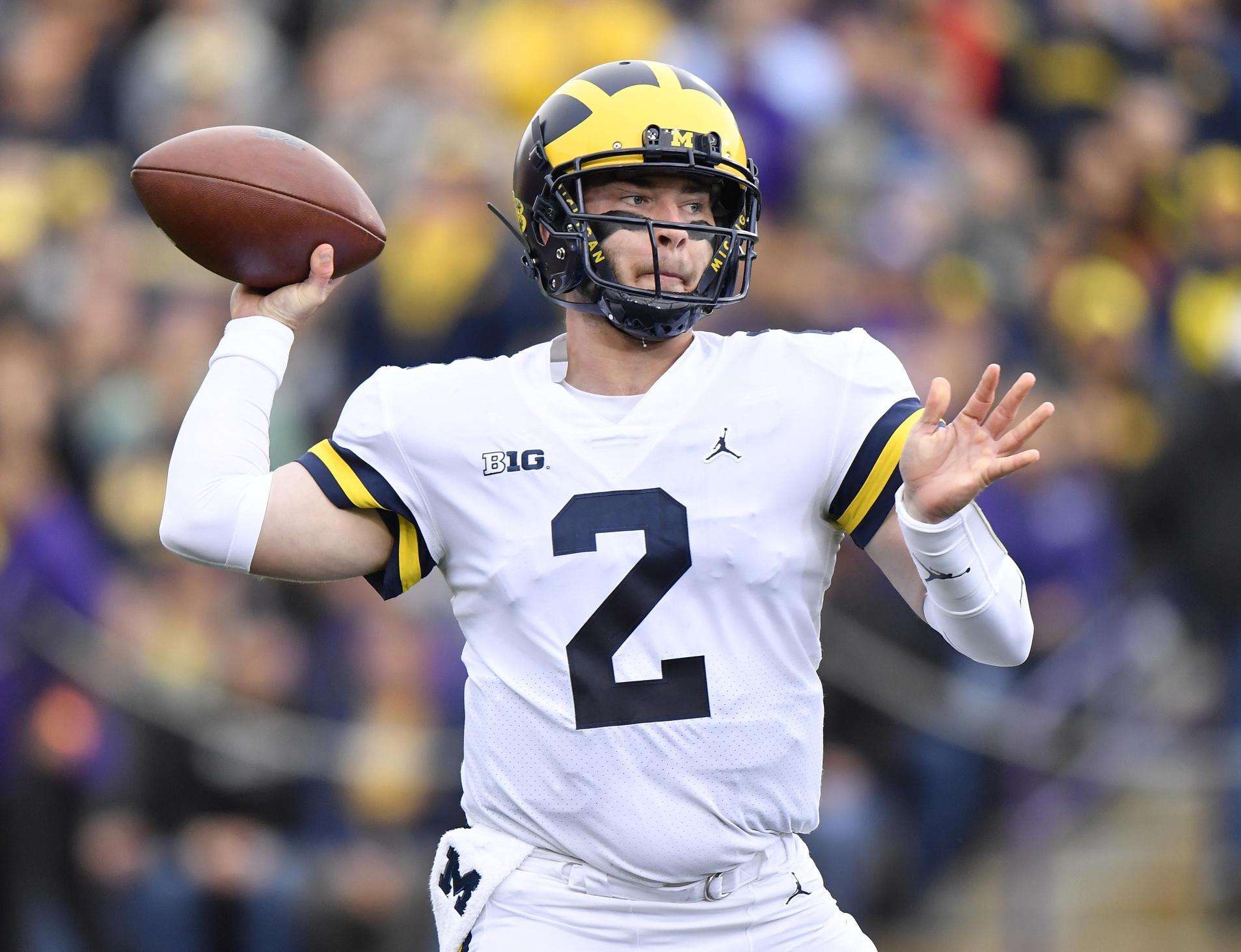 quality design 76825 4671b Michigan quarterback Shea Patterson has the clutch gene, and ...