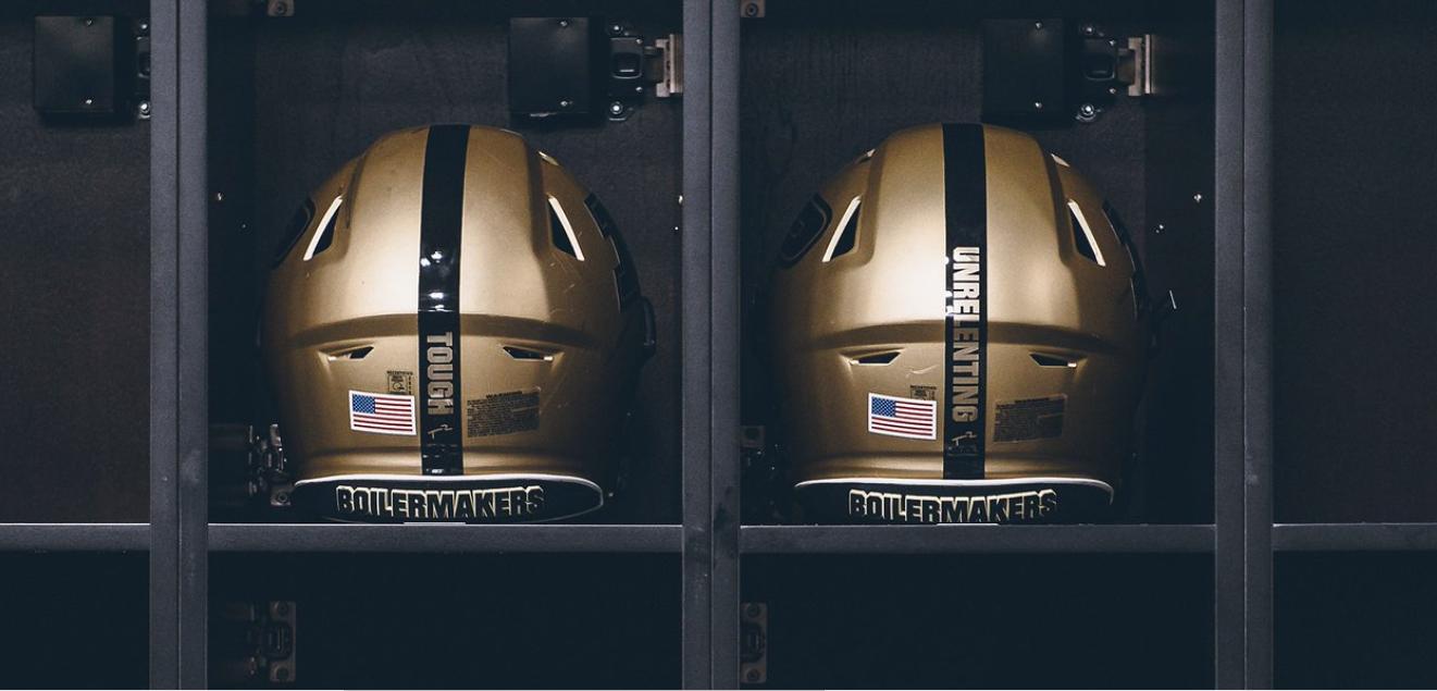 LOOK: Purdue helmets to have special stripe in honor of Tyler Trent
