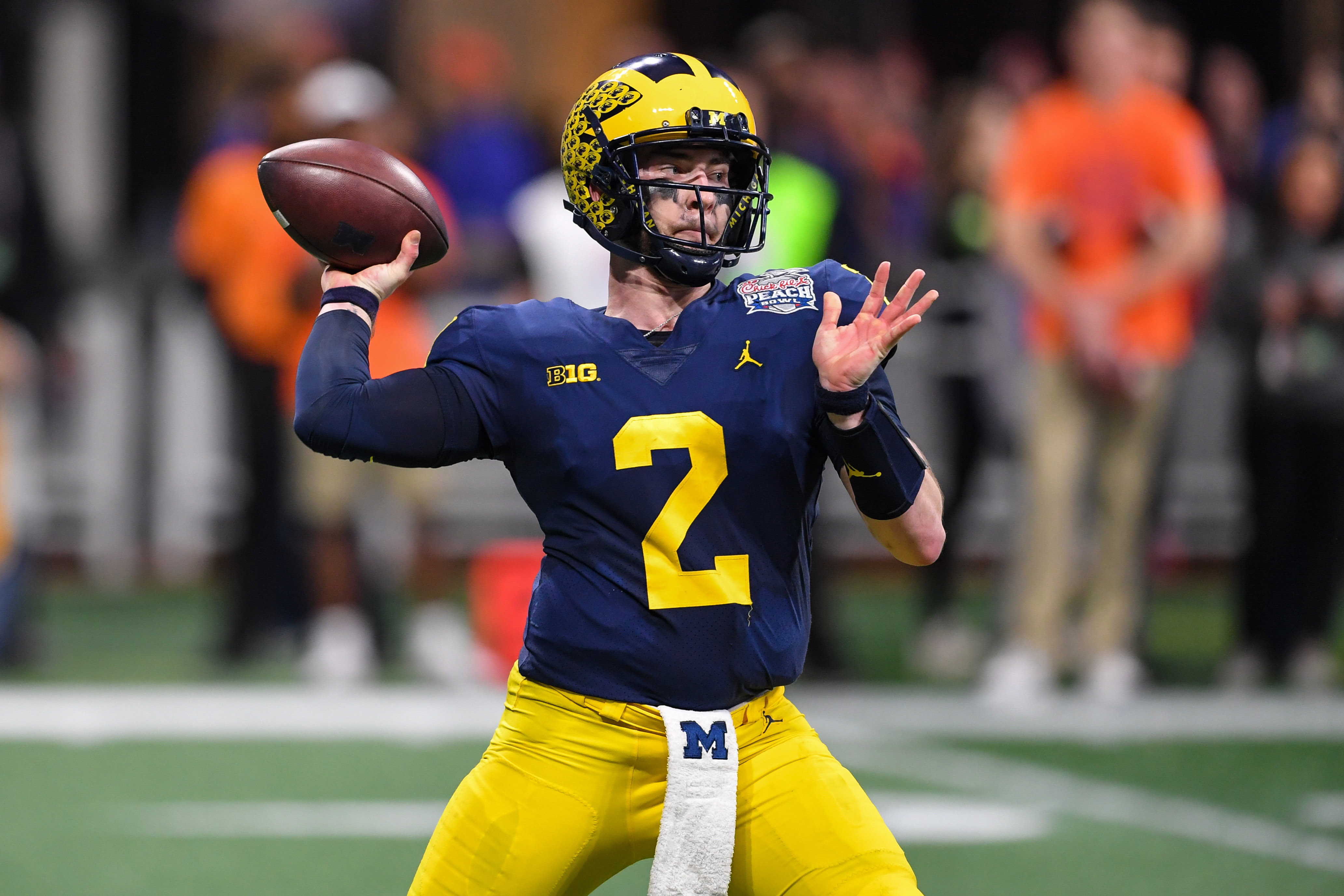PFF ranks all 130 CFB starting QBs, none from B1G in Top 10