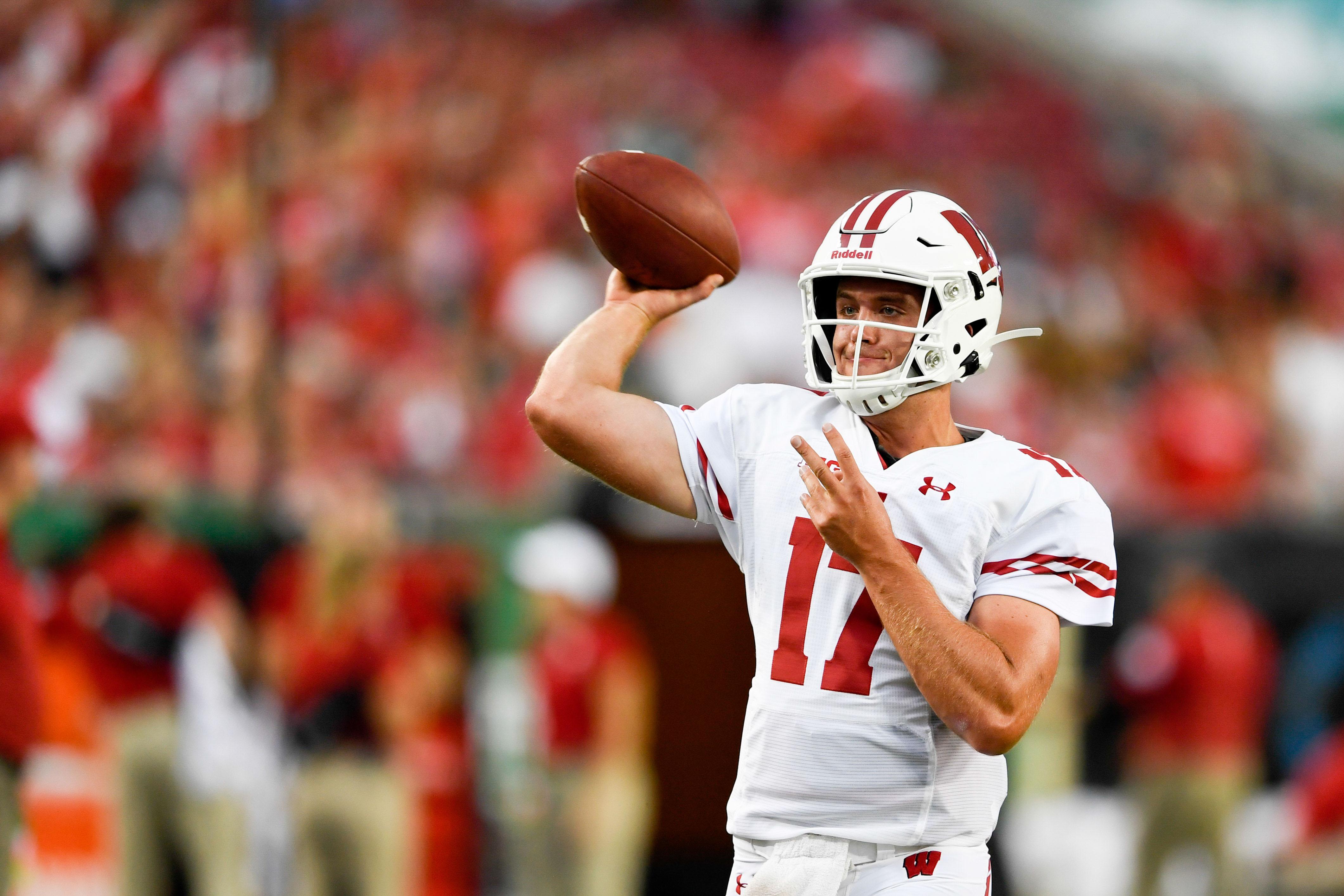 Jack Coan Do It The Capability Of Wisconsin S Quarterback