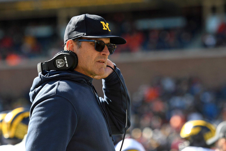 Jim Harbaugh talks Michigan's steady improvement, Josh Gattis' development as an OC