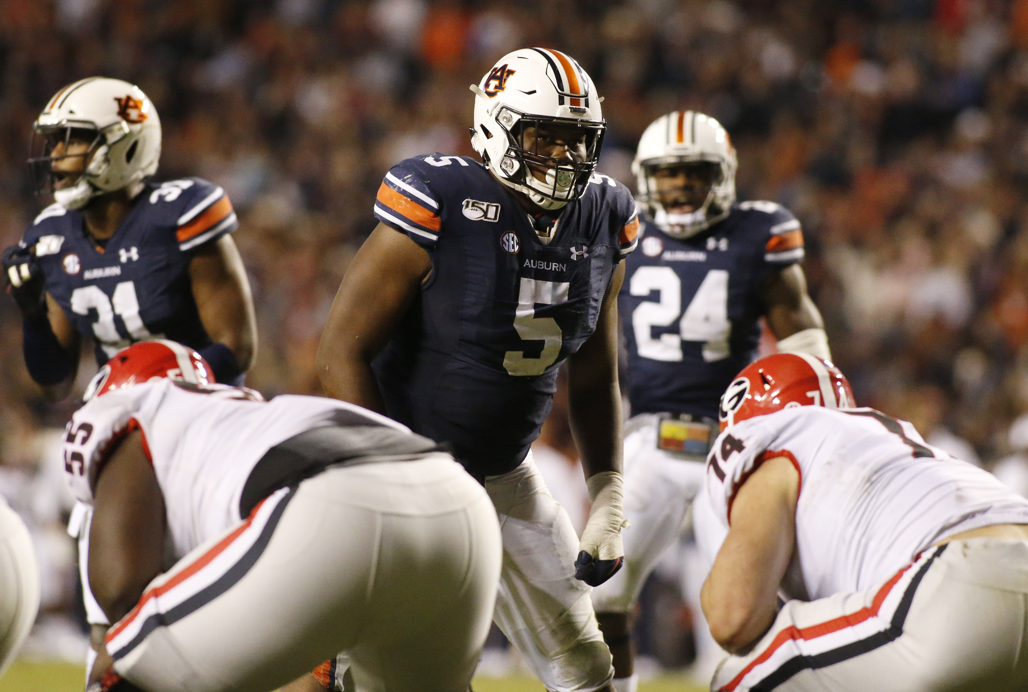 Auburn DT Derrick Brown reveals decision on Outback Bowl