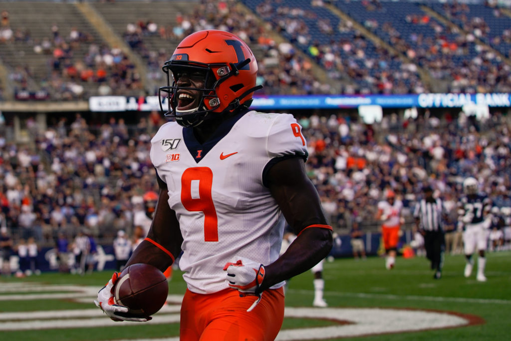 Illinois WR Josh Imatorbhebhe sounds off on Twitter following B1G decision: 'This is some political BS'