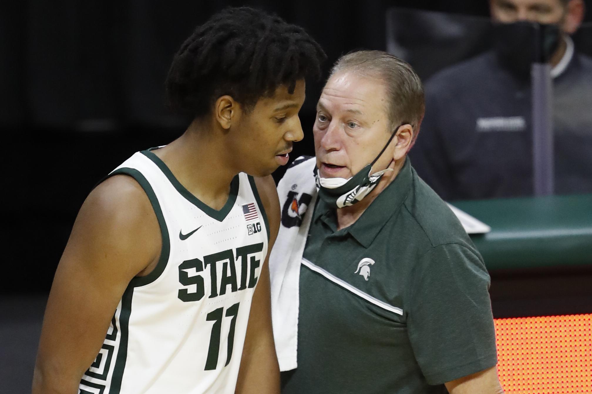 Tom Izzo hopeful Michigan State returns to action next week