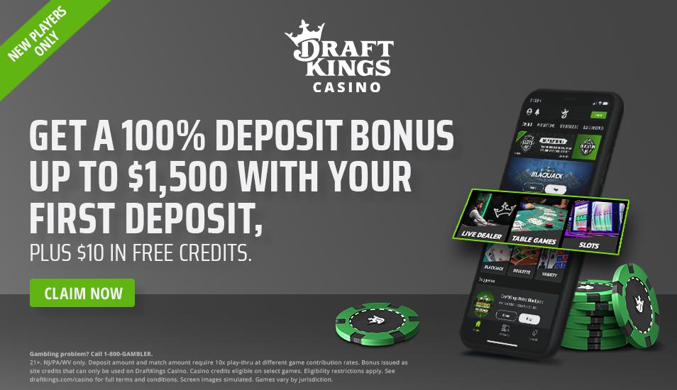 Best Nj Online Casino Signup Bonus